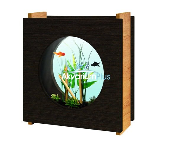aquatlantis acuario diseo madera kit filtro y led uac comprar