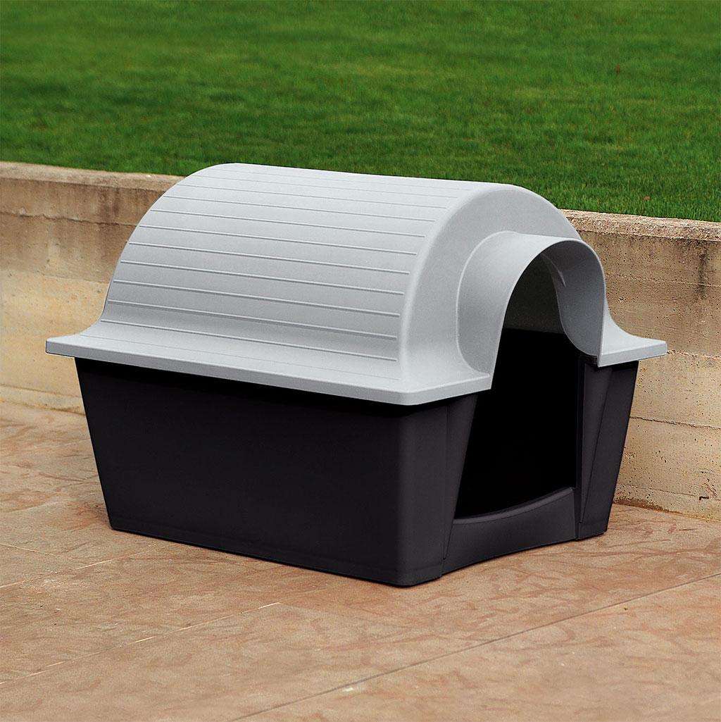 Europlast akus caseta perro design by denis santachiara for Casetas para perros bricomart